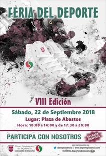 El 22 de septiembre Plasencia celebra su VIII Edición de la Feria del Deporte