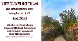 El día 3 de octubre acaba el plazo de inscripción en la V Ruta del Emperador Trajano