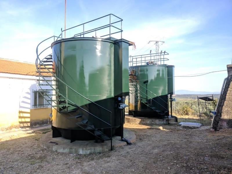 El Ayuntamiento de Palomero invierte 25.000 euros en obras de mejora en la Estación de Tratamiento de Agua Potable