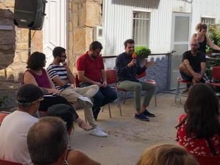 Álvaro Sánchez Cotrina, diputado de Cultura, Juventud y Deportes, participa en la clausura del Festival de Arte en el espacio público rural 'Dinamo'