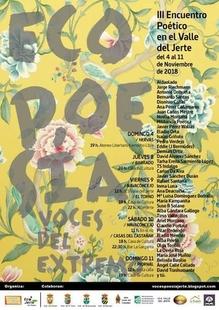 El III encuentro poético del Valle del Jerte tendrá lugar la primera semana de Noviembre