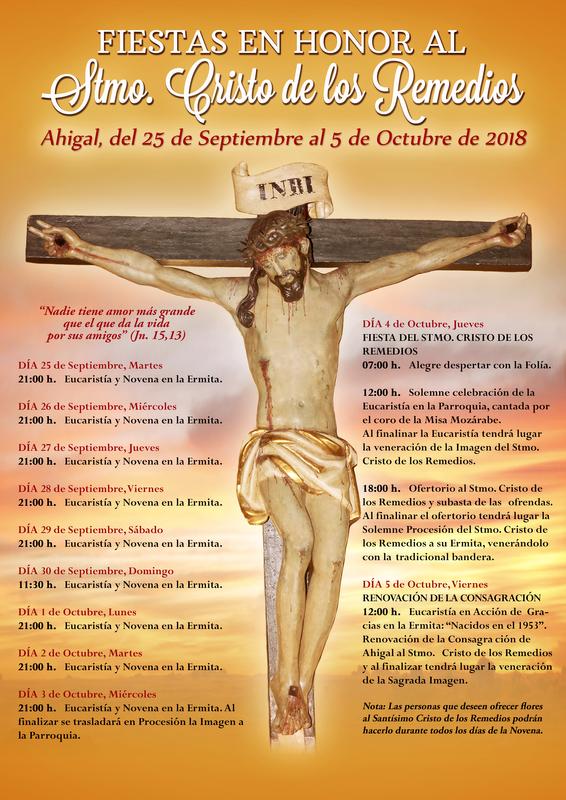 Ahigal celebra las fiestas del Cristo