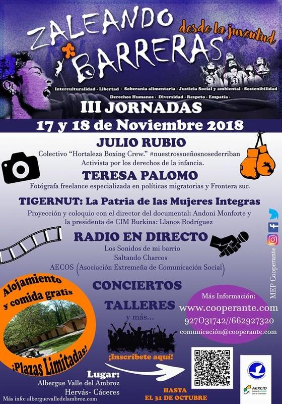 El Movimiento Extremeño por la Paz cita a jóvenes de Extremadura para una convivencia en Hervás