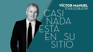 Víctor Manuel actuará en Plasencia el próximo día 16 de noviembre