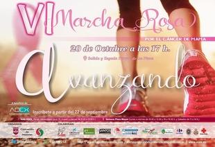 La Marcha Rosa volverá a recorrer Plasencia contra el cáncer de mama
