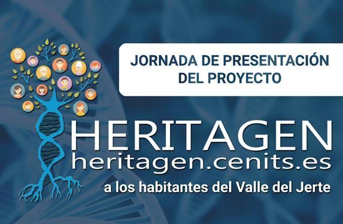 Los vecinos del Jerte podrán asistir hoy a una charla sobre el Proyecto Heritagen en Piornal