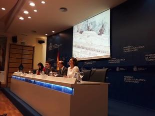 La Asociación de Cooperativas Valle del Jerte participa en Madrid en una jornada sobre la fruta de hueso