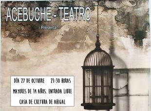 La Red teatro amateur llega el próximo sábado 27 de octubre a Ahigal con la representación de 'La Siega' de Acebuche Teatro
