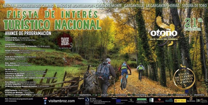 Ayer fue presentada en rueda de prensa la programación del XXI Otoño Mágico del Valle del Ambroz