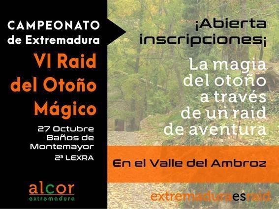 Comienza este fin de semana el Otoño Mágico del Valle del Ambroz con tres modalidades de Raids de Aventura