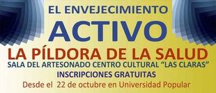 El Ayuntamiento de Plasencia organiza diferentes charlas gratuitas para fomentar el envejecimiento activo
