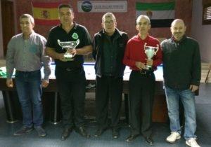 El montijano Salvador Fernández gana el Torneo de Billar del Otoño Mágico