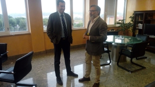CHT se compromete a visitar Plasencia en Noviembre para valorar las intervenciones a realizar en el Río Jerte