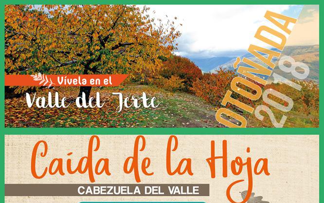 Este sábado 3 de noviembre se celebra la Fiesta de la caída de la hoja en Cabezuela del Valle