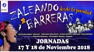 """El 17 y 18 de noviembre se celebrará en Hervás las III Jornadas """"Zaleando Barreras desde la Juventud"""""""