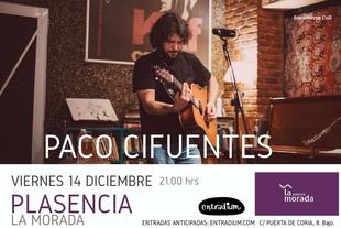 El cantautor sevillano Paco Cifuentes ofrece un concierto en Plasencia