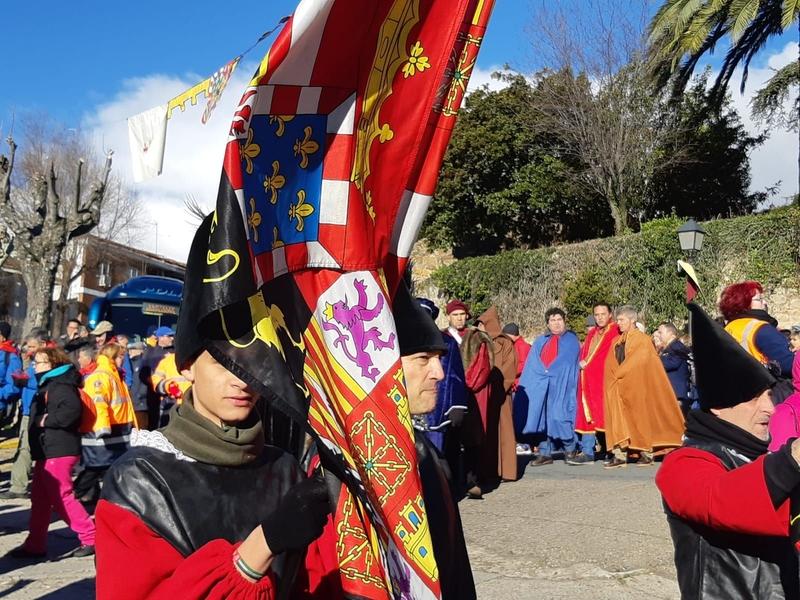 Más de 4.500 personas acompañaron al emperador Carlos V en su viaje hasta el Monasterio de Yuste