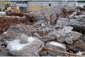 Diputación comienza las obras de un tramo experimental con materiales reciclados en la carretera de Zarza de Granadilla
