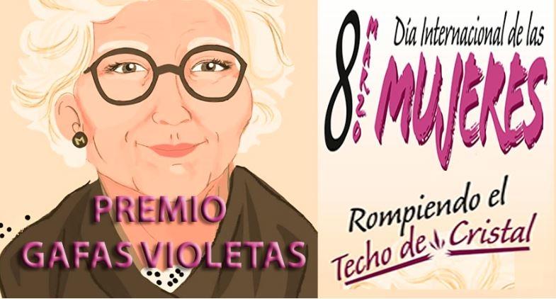 Entrega de Premio Gafas Violetas a la promoción de la Igualdad en el ámbito educativo