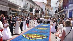 La procesión del Corpus Christi lucirá todo su esplendor ante los placentinos