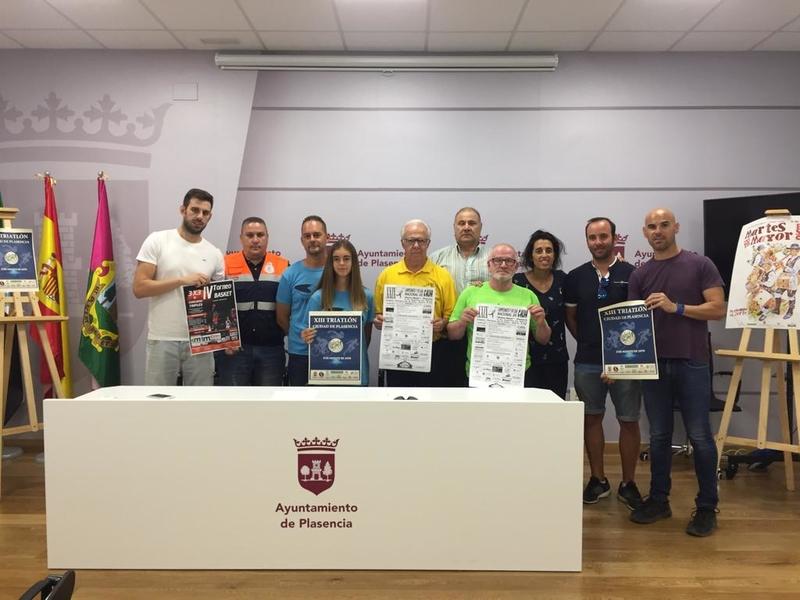 Plasencia albergará el triatlón extremeño que más atrae a los competidores de fuera de la región