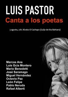 Luis Pastor ofrecerá dos conciertos en el marco de la II Muestra de Cine de la Vera