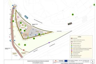 Comienzan las obras de recuperación del Parque del Mirador en Valdeobispo