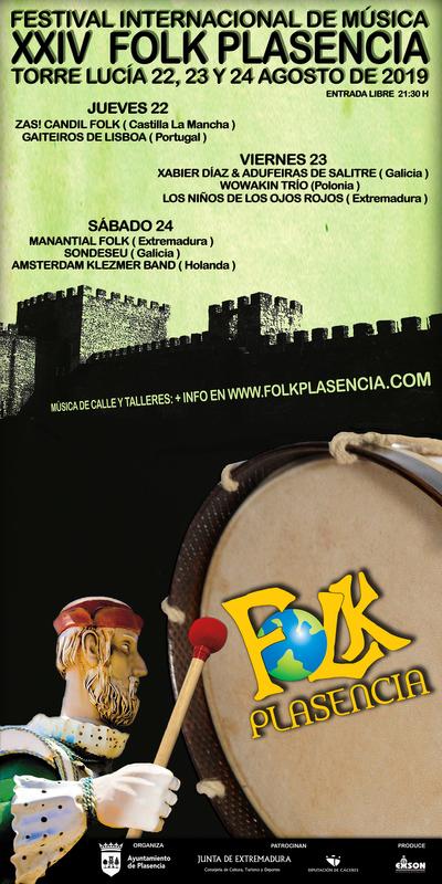 El Abuelo Mayorga protagoniza el cartel del festival Folk de Plasencia