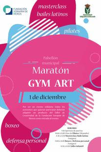 MARATÓN GYM ART a beneficio del Taller de Creatividad de la Fundación Sorapán de Rieros
