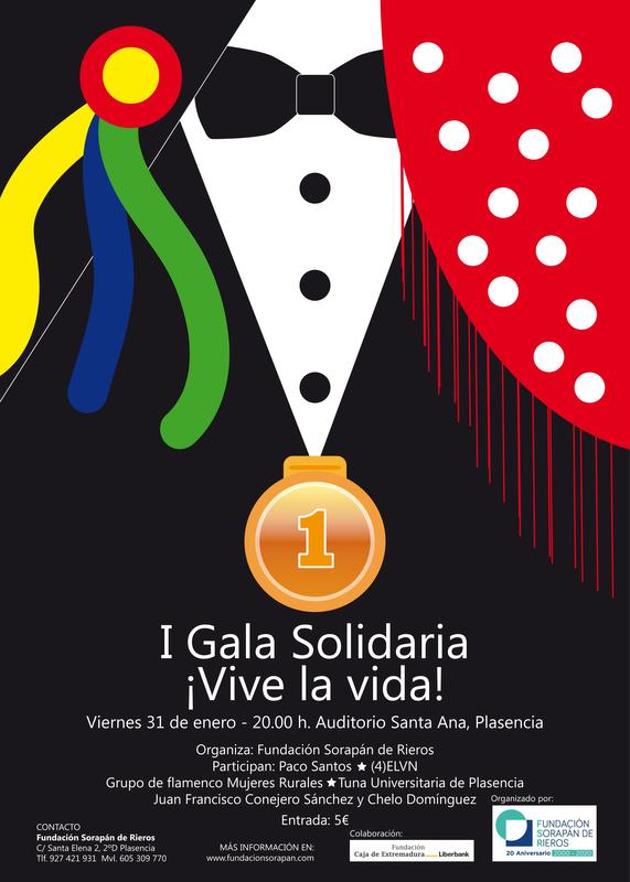 Gala solidaria ¡Vive la vida! por la Fundación Sorapán de Rieros