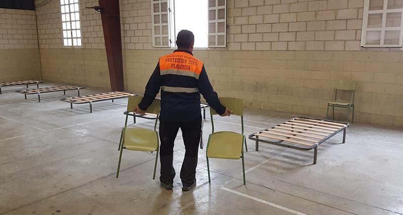 El Ayuntamiento de Plasencia habilita el pabellón del Berrocal para los Sin Techo