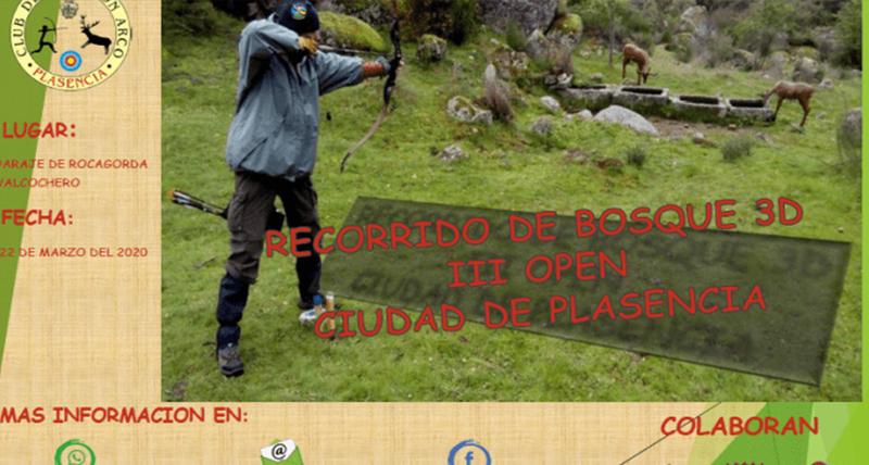 """Suspendido el """"III Open 3D Ciudad de Plasencia"""" de tiro con Arco"""