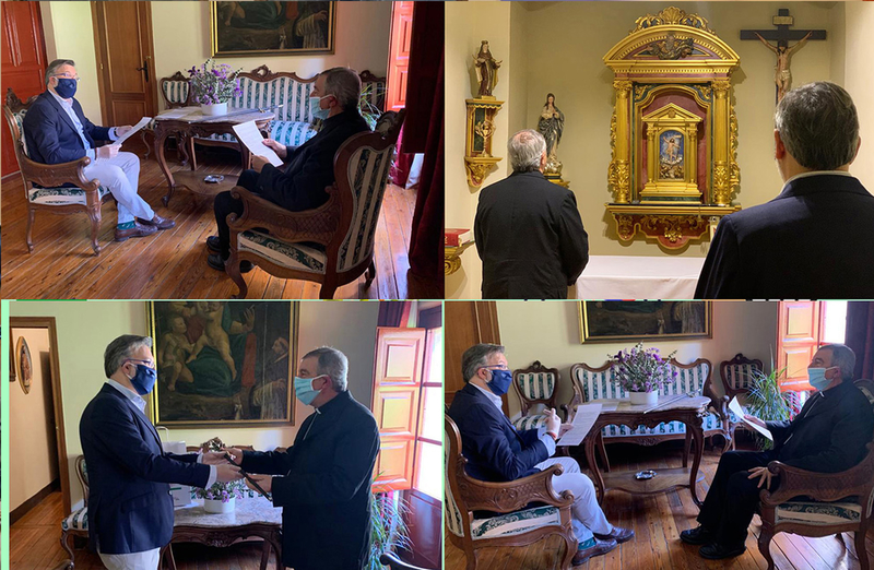 Obispo y Alcalde acuerdan crear un comité de seguimiento para ayudar a los más vulnerables después del confinamiento