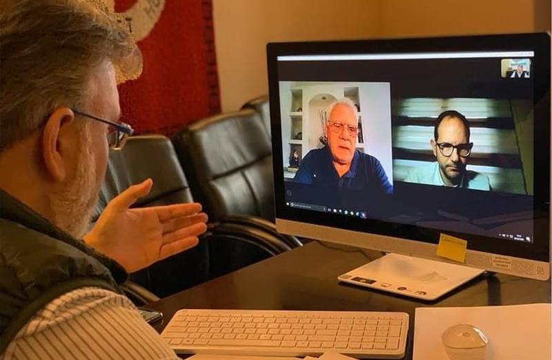 El Alcalde se reúne con los directores de los centros universitarios mediante videoconferencia