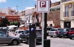 Mañana comienzan las pruebas del aparcamiento temporal gratuito
