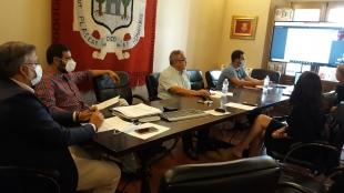El Alcalde se reúne con agentes sociales para exigir al Gobierno que ponga en marcha de manera inmediata los servicios ferroviarios