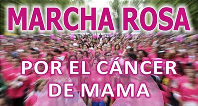 Paseos en grupos reducidos y fotos para las redes sociales sustituyen este año la tradicional marcha rosa contra el cáncer de mama