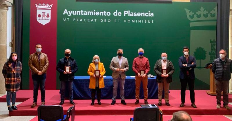 Homenaje municipal a los funcionarios jubilados durante el 2020