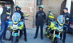 La policía local dispondrá de bicicletas eléctricas para mejorar el servicio en zonas de diferentes accesos