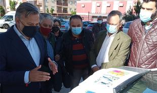 El Ayuntamiento arreglara la travesía de la Avenida de Extremadura antes de que finalice el año