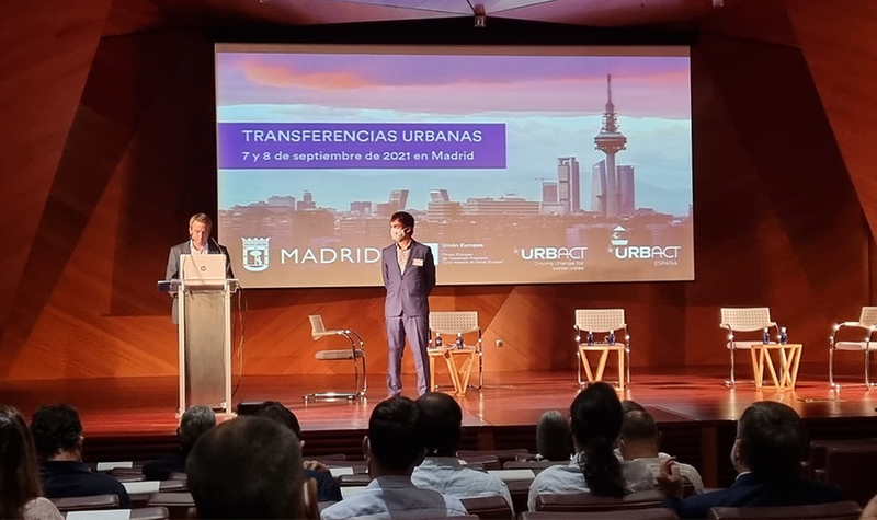 """Plasencia presenta su """"transferencia Urbana"""" en el foro de debate nacional de las Jornadas sobre Transferencias URBACT que se celebran hoy y mañana, e"""