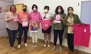 """""""Plasencia se viste de rosa"""", este es el objetivo de la AOEX con la venta de 4.000 dorsales a beneficio de las personas afectadas de cáncer"""